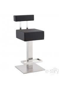 "Tabouret de bar ""NOBLE MINI"" Noir"
