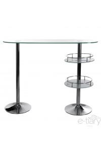 "Table de bar ""WHISKY ""Transparente"