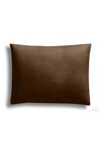 """ Cacao "" taie d'oreiller 50 x 70 cm 100% coton"