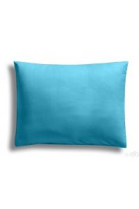 """"""" Turquoise """"  taie d'oreiller 50 x 70 cm 100% coton"""