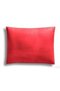 """"""" Rouge """"  taie d'oreiller 50 x 70 cm 100% coton"""
