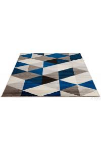 """Tapis design  """"SCANDINAVE"""" Bleu"""
