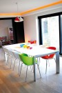 Table de salle à manger ITATRA Blanc pour les grandes tablées