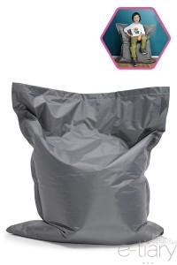 Pouf géant BOTA XL Gris clair/Gris foncé - 100x130x25cm