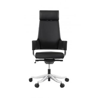Chaise de bureau ergonomique MATEZA Noir