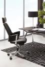 Chaise de bureau noir MATEZA - moderne et design
