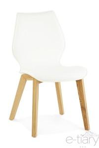 Chaise de salle à manger TSARA - Blanc