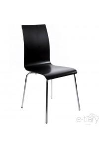 Chaise épurée TSOTRA - Noir