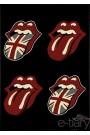 Grand tapis 120x170 cm crazy rock bouche langue London