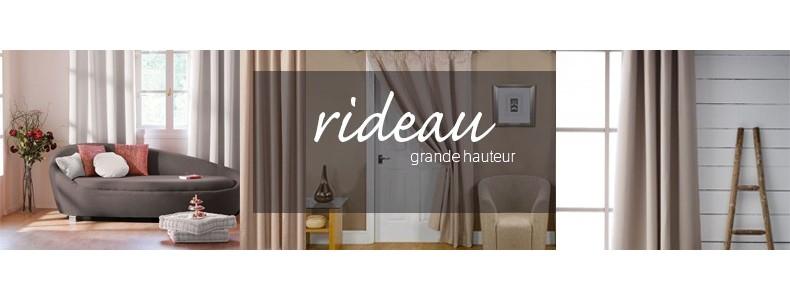 rideau grande hauteur www e. Black Bedroom Furniture Sets. Home Design Ideas