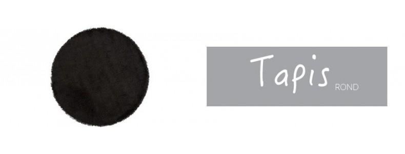 Tapis rond