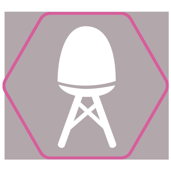 Chaise de salle à manger TSARA design