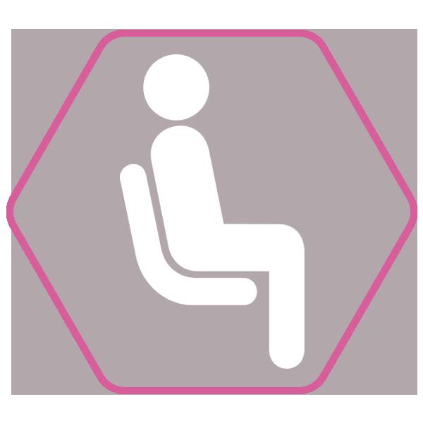 Chaise de salle à manger TSARA confortable
