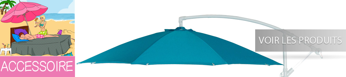 pied de table, pied de parasol et d'autre accessoire de deco